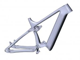 Carbon Electric Mountain Bike Frame