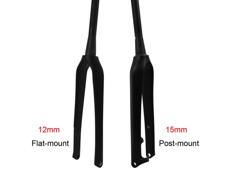 Carbon Cyclocross Bike Fork