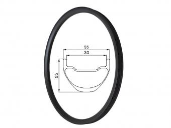 Carbon Tubeless All Mountain Mtb Rims